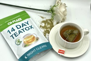 GET RID OF TUMMY BLOAT WITH OHRAM 14-DAY TEATOX!