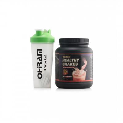 HEALTHY STRAWBERRY SHAKE (750g)